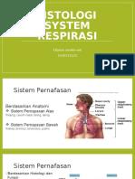 Histologi Sistem Respirasi