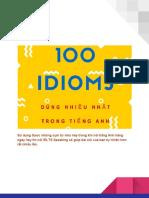 100 Idioms