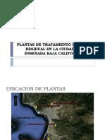 Plantas de Tratamiento de Agua Residual Ensenada