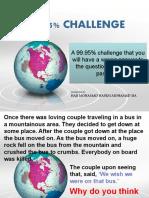 A 99.95% CHALLENGE