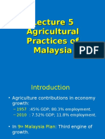 Agricultural Practices of Malaysia