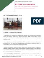La Prision Preventiva _ Nuevo Proceso Penal – Comentarios_ (2)