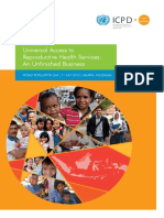 Booklet Universal Access to Reproductive Health