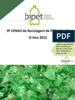 Senso de Reciclagem Do Pet 2012