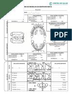 Anexos Ficha Clínica - Análisis de Modelos en Dentición Mixta
