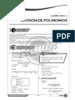 X S11 División de Polinomios