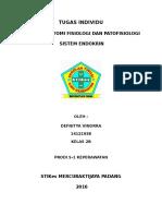 Anfis Dan Patofisiologi Sistem Endokrin