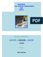 INDUSTRIAL HAZARD STUDY--Spill Clean Up--ED-1,VOL-1
