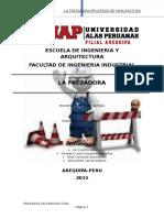 La-fresadora-procesos de Manufactura Final