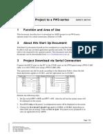 ADP6 Startup