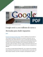 Google Impuestos