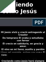 Creciendo como Jesús .pptx
