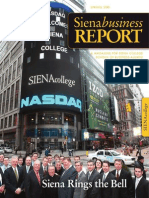Siena Business Report Spring 2010
