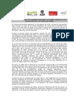 Moció de suport a les mobilitzacions i accions contra el Pla Hidrològic de la Conca de l'Ebre. Febrer 2016