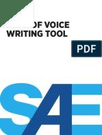 Brand Tone of Voice Tool