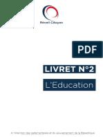 Livret n°2 - L'Education