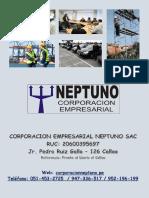 Presentacion Corporacion Empresarial Neptuno Sac - Digital 2016