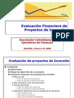 Evaluaci%F3n Financiera de Proyectos de Inversi%F3n ACEF