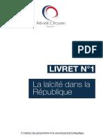 Livret n°1 - La Laïcité dans la République