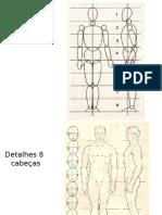 Desenho Corpo Humano 8 Cabeças