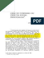 Clarke - Crise do fordismo ou crise da social-democracia.pdf