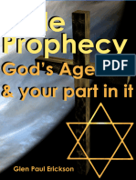 Bible Prophecy - God's Agenda & Your Part In It- Glen P Erickson