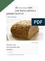 Receitas de Pão de Inhame Sem Glúten