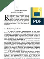 EL DIECINUEVE DE MARZO Y EL DOS DE MAYO Edición resumida y comentada por Rafael del Moral
