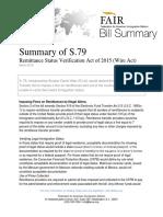 Summary of S.79 (WireAct)