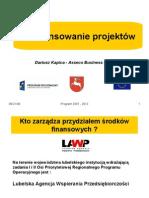 Dofinansowanie UE2008 05 05