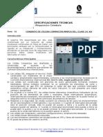 Especificacion Tecnica de Celda de distribucion