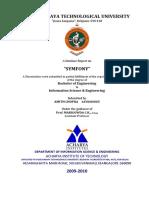 Technical Seminar on Symfony