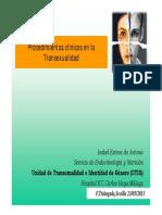 Procedimientos Clinicos Transexualidad Web