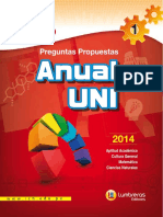 Boletin 1 Anual UNI 2014