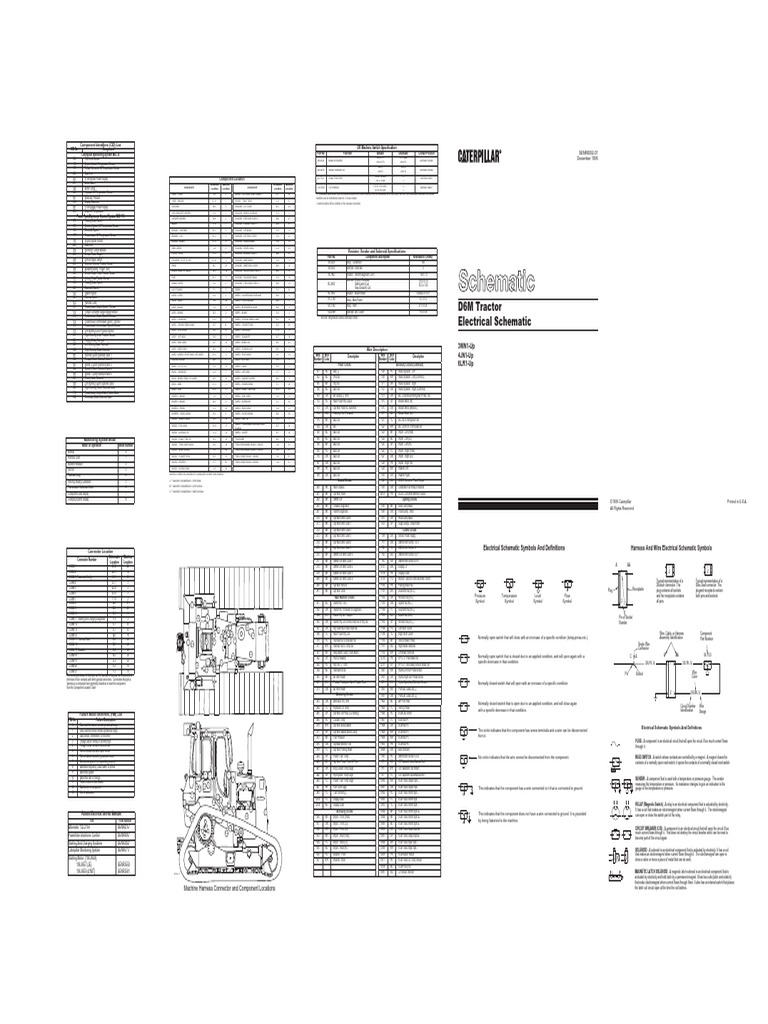 d6m pdf electrical connector transmission (mechanics) cat 325 specs cat 325b wiring diagram #47