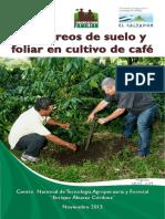 Manual Muestreo de Suelos y Foliar en Cafe