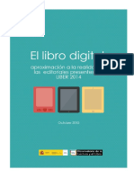 Informe Libro Digital LIBER 2014