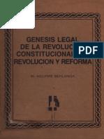 Genesis de La Revolucion