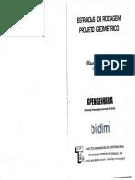 Estradas de Rodagem - Projeto Geométrico