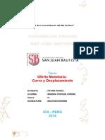 Oferta Monetaria Monografia