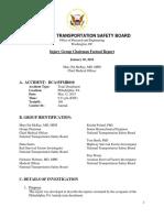 Amtrak Crash Medical Injury Factual Report
