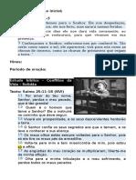 03032016 Quinta Conflitos Solidão