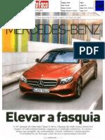 Mercedes-Benz Classe E | Ensaio na revista Auto Foco