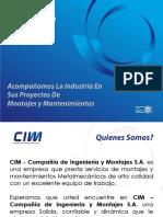 Brochure 2015 CIM