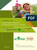 Memoria Experiencias Microfinanzas & Salud 2015 - Promuc