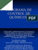 Control de Quimicos