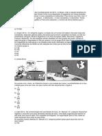 Análise Combinatória - Exercícios