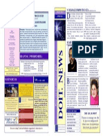 Doitnews Spring 2010 Vol1 Issue Feb 3 2010