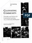 Cultivating Community - Principles and Practices ~ Karen Payne