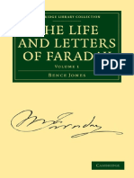 Bence Jones, Michael Faraday the Life and Letter Volume 1